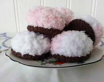 Mixed pink/white mallow
