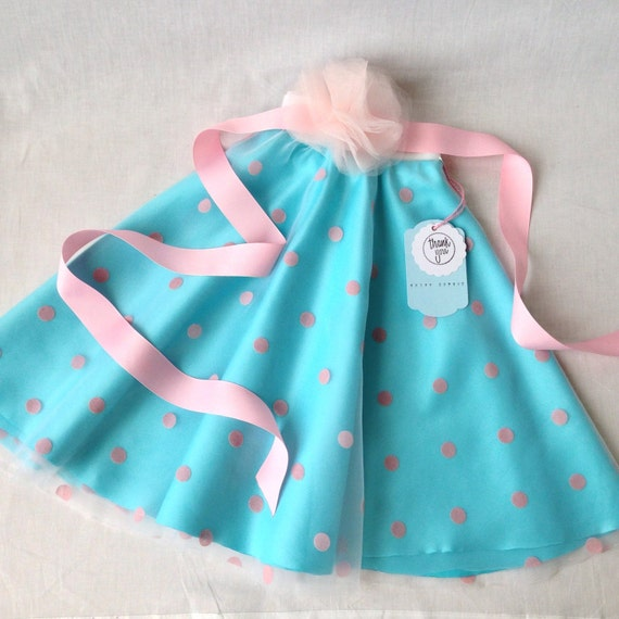 s pink and blue circle skirt with white by skirteffect