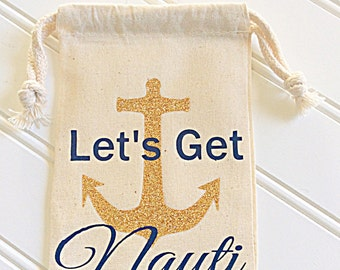 Let's Get Nauti! With Anchor Hangover Kit Bags