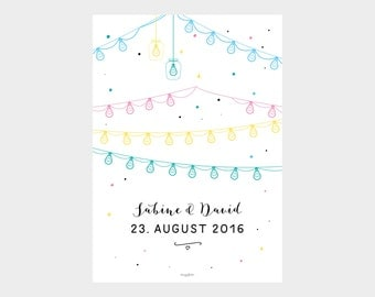 Poster / wedding no.. 3