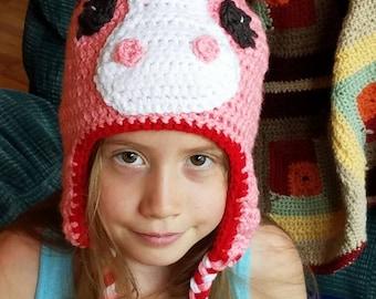 Crocheted Pony Toboggan