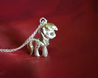 Derpy Silver & Gold Plated Pendant