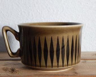 Vintage Stavangerflint teacup Norway Stoneware 1960 s
