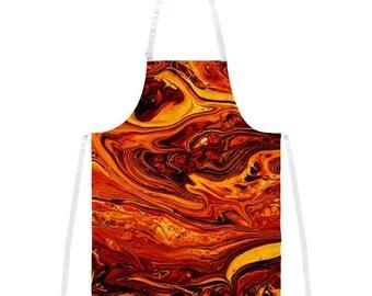 Hot Lava Apron