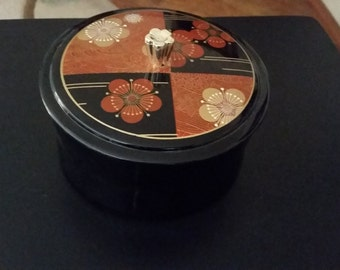 Vintage Asian Theme Canister