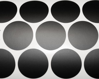BLACK POLKA DOTS stickers, Home decor, Nursery decor Black Dot Decal, Wall polka dot vinyl wall art, Peel and Stick, Black Dots Stickers