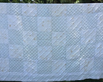 Early handstitched antique quilt
