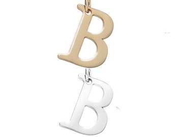 "Letter ""B"" (Silver or gold tone) [5 pieces]"