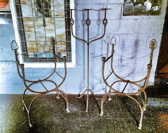 1800's Candle Stand