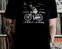 Late night lonely riders - Organic Cotton T-shirt