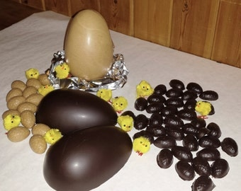 Raw Chocolate Easter Eggs - Dairy Free