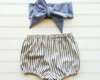 Nautical striped bloomers