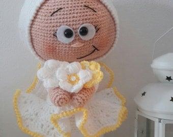 Angel amigurumi, handmade, wool, crochet amigurumi Angel, crochet