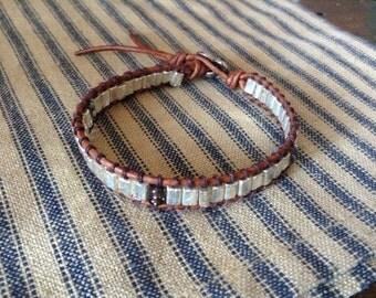 Beautiful Single wrap chan lu inspired bracelet