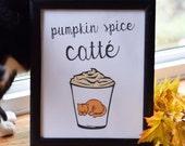 Fall Decor, Pumpkin Spice...