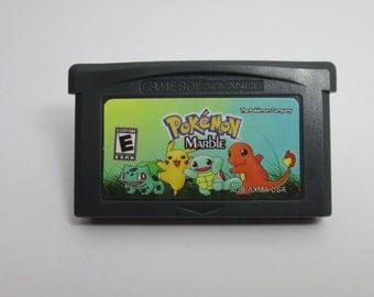 Pokemon Marble fan made hack GBA Gameboy Advance