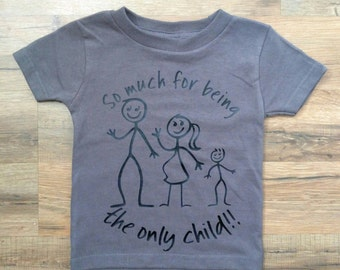 Pregnancy Announcement, Funny Kids Shirt, Sibling, Big Brother, Big Sister, Birth Announcement
