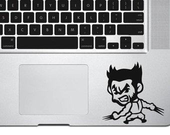 Wolverine Inspired Vinyl Decal,Baby Wolverine, Wolverine decal, Wolverine sticker, car decal, wall decal, marvel decal