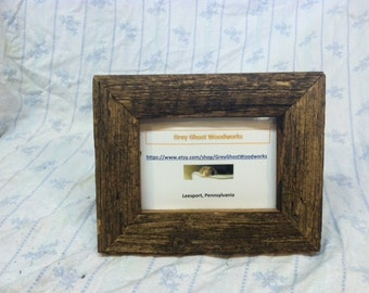 Rustic, Weathered Picture Frame 4x6
