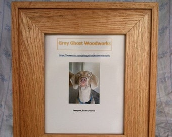 Picture Frame 8x10 Red Oak