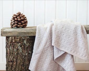 Baby knitted blanket, Knitted baby blanket, Baby shower gift, Baby blankets, Baby gifts, Knit baby blanket, Merino blanket