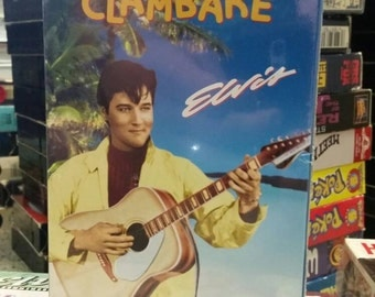 Elvis Presley Unopened VHS- Clambake- Musical Rock n' Roll