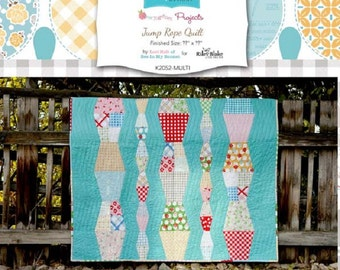 "Lori Holt Bee in My Bonnet Bloom Templates  ""Thimble Jump Rope""  for Riley Blake"