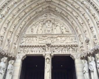 Paris #636 - Notre Dame Cathedral, Paris, France