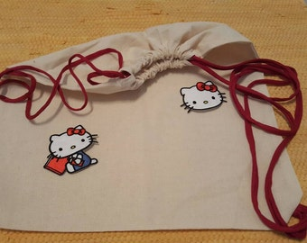 ☺mit hello kitty shopping bag backpack