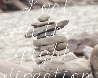 Lost In The Right Direction.