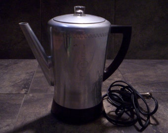 Vintage West Bend Flavomatic Electric Coffee Perculator