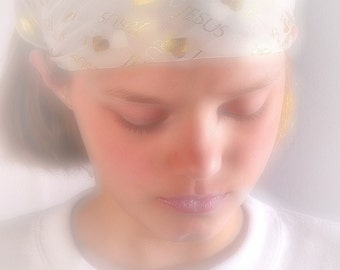 Prayer Kid in Soft Pastel