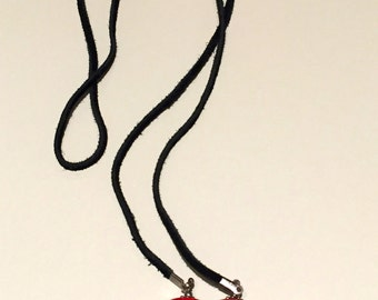 Red and Black Lariat