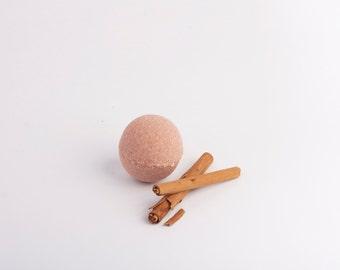 -Cinnamon bath bomb
