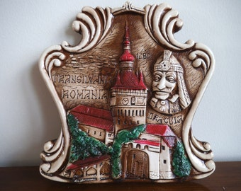 Dracula - Vlad The Impaler - Original Ceramic From Transylvania