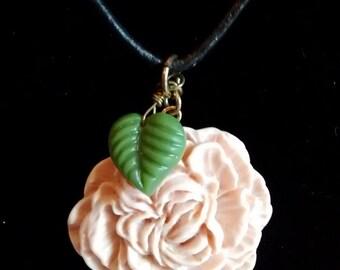 Spanish Rose Necklace