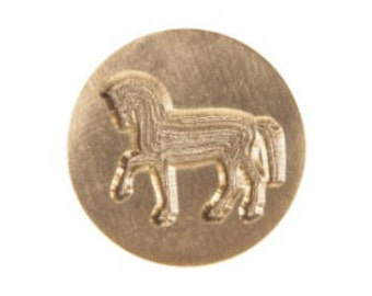 Horse Graphic Letter Seal