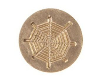 Spider's Web Graphic Letter Seal