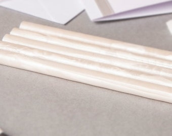 Pearl White Sealing Wax (Glue Gun Stick Only)