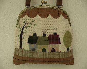 Japanese cotton patchwork bag