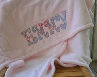 Appliqued Baby Blanket