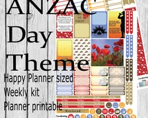 Unique Anzac Day Related Items Etsy