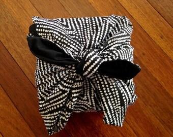 Nara's  furoshiki wrap