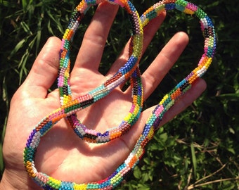 """29"""" Beaded Rope Necklace"""
