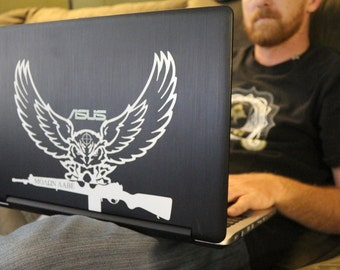Tactical Owl 2nd Amendment Come and Take Them Decal