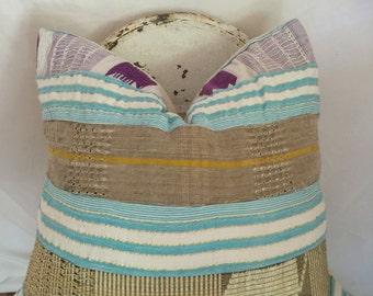 26x26 Authentic Boho Mud Cloth Textile Pillow Cover