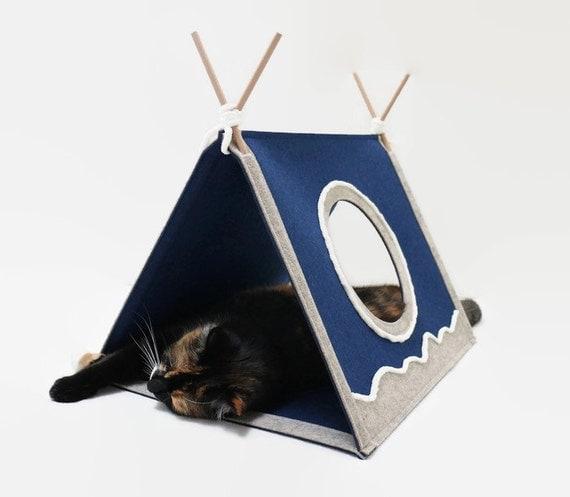 Modern Cat House cat house cat toy modern cat furniture triangle cat house cat