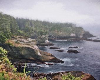Washington State Art, Cape Flattery, Pacific Northwest, Olympic Peninsula, Olympic National Park, Washington State, Pacific,