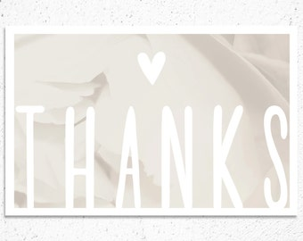 Thank You Note - Modern Style