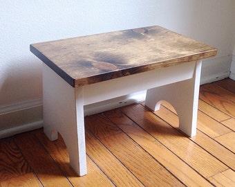 Rustic step stool